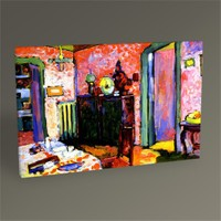 Tablo 360 Wassily Kandinsky Interior 45X30