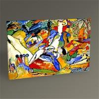 Tablo 360 Wassily Kandinsky Kompozisyon Tablo 45X30