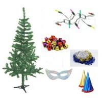 Yılbaşı Çam Ağacı-120 cm ve Seti