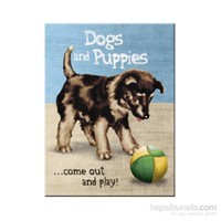 Dogs and Puppies Magnet
