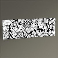 Tablo 360 Jackson Pollock No. 14 Tablo 60X20