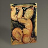 Tablo 360 Amedeo Modigliani Karyatit Tablo 45X30