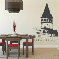 I Love My Wall Modern (Mdn-094)Sticker(Baykuş Sticker Hediye!)