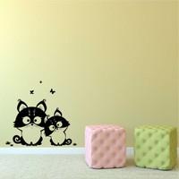 I Love My Wall Modern (Mdn-104)Sticker(Baykuş Sticker Hediye!)