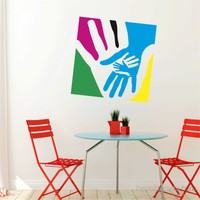 I Love My Wall Modern (Mdn-109)Sticker(Baykuş Sticker Hediye!)