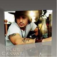 Pluscanvas - Johnny Depp Tablo