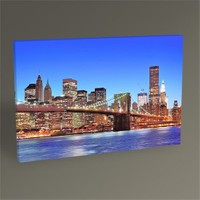 Tablo 360 New York Brooklyn Bridge Tablo 45X30