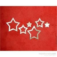 Yıldızlar Küçük Boy Dekoratif Ayna
