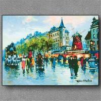 Tablom Kırmızı Değirmen (Moulin Rouge) Kanvas Tablo
