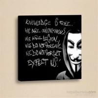 Dekorjinal Slogan Kanvas Tablo Slo042