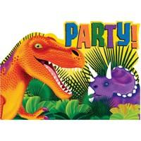 Parti Paketi Dinozor Partisi Davetiye