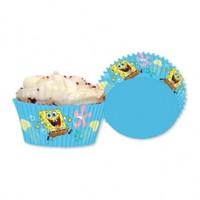 Parti Paketi Sponge Bob Cupcake Kiti 24'Lü