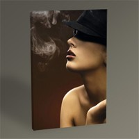 Tablo 360 Woman Smoke Tablo 45X30
