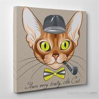 Tabloshop Mr. Cat Kanvas Tablo