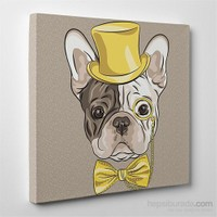 Tabloshop French Bulldog Kanvas Tablo