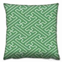 Gravel Geometrik Desenli Dekoratif Yastık A14300
