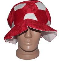 Pandoli Kırmızı Beyaz Parti Şapkası