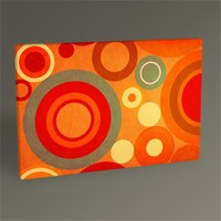 Tablo 360 Retro Abstract Iı Tablo 45X30