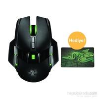 Razer Ouroboros Elite Ambidextrous Kablolu/Kablosuz Oyun Mouse + Razer Goliathus Control Medium Mousepad
