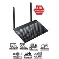 Asus DSL-N14U 300Mbps Torrent,Bulut,VPN,DLNA,3G/4G,EWAN Fiber Destekli ADSL2+ Modem Router