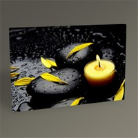 Tablo 360 Yellow Candletablo 45X30