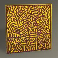 Tablo 360 Keith Haring Untitled,1982 Tablo 130X130