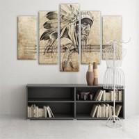 Dekoratif 5 Parçalı Kanvas Tablo-5K-Hb061015-170