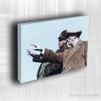Doku Canvas Baskı Atatürk Atge-085/ 60*50