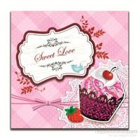 Dolce Home Dekoratif Tatlı Aşk Yazılı Tablo 8