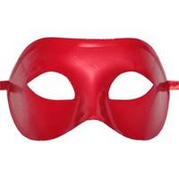 Pandoli Kırmızı Plastik Balo Maskesi