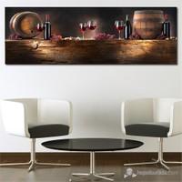 Tabloshop - Bottle Canvas Tablo - 90X30cm