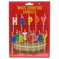 Npwhappy Bırthday - Who's Countıng Candles