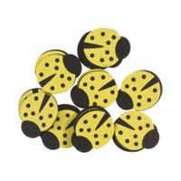 La Mia 25'Li Civciv Sarı Uğur Böceği Keçe Motifler F203-M08