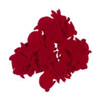 La Mia 25'Li Kırmızı Tavşan Keçe Motifler Fs204-M13