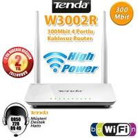 Tenda W3002R 802.11n 300Mbit 2x5dBi Antenli High Power Kablosuz Router/Access Point/Menzil Arttırıcı