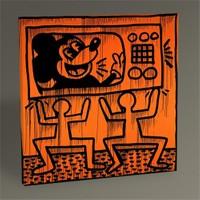 Tablo 360 Keith Haring Untitled,1982 Tablo 30X30