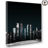 Artred Gallery 60X60 City Işıklı Tablo