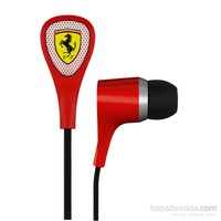 Ferrari by Logic3 S100 Scuderia Delta Kulakiçi Kırmızı Kulaklık