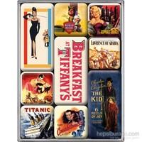Movie-Art Retro Magnet Set (9 Parça)