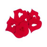 La Mia 10'Lu Kırmızı Dudak-2 Keçe Motifler M13