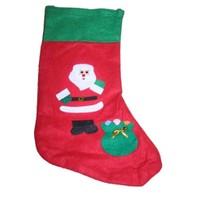 Kostümcüm Noel Hediye Çorap Noel Baba Desenli