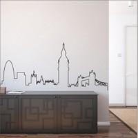 I Love My Wall Şehirler (Shr-207)Sticker(Baykuş Sticker Hediye!)