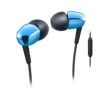 Philips SHE3905BL/00 Mavi Mikrofonlu Kulakiçi Kulaklık