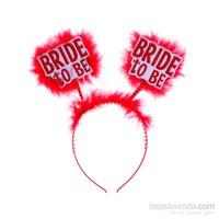 KullanAtMarket Bride to Be Kirmizi Parti Taç 1 Adet