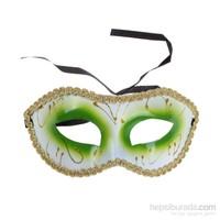 KullanAtMarket Kontür Süslemeli Karışık Maske