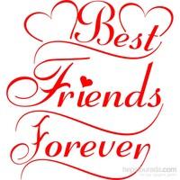 Sticker Masters Best Friends Forever Duvar Sticker