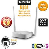 Tenda N301 4Port WiFi-N 300Mbps 2 Anten Router/AP
