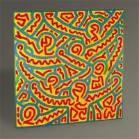 Tablo 360 Keith Haring Untitled 30X30