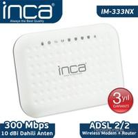 Inca IM-333NX 300Mbps Adsl2/2 Wireless Modem + Router
