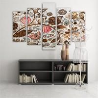 Dekoratif 5 Parçalı Kanvas Tablo-5K-Hb061015-211